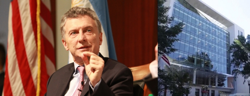 Mr. Macri Comes to Washington