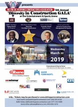 5th Annual 'Diversity in Construction GALA' at the E&SA