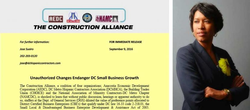 Unauthorized Changes Endanger DC Small Business Growth