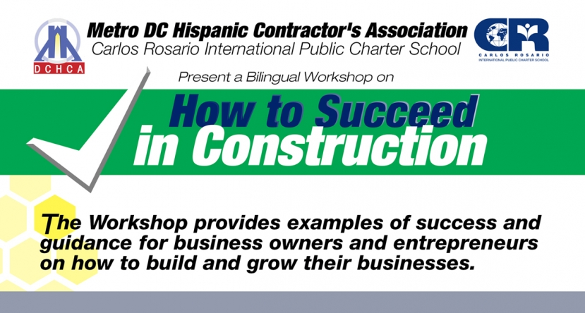 Free Workshop Sponsored by Metro DCHC & the Rosario School